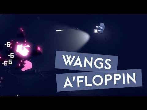 It Came From Space and Ate our Brains - WANGS A'FLOPPIN (Instagib Gaming Let's Play)