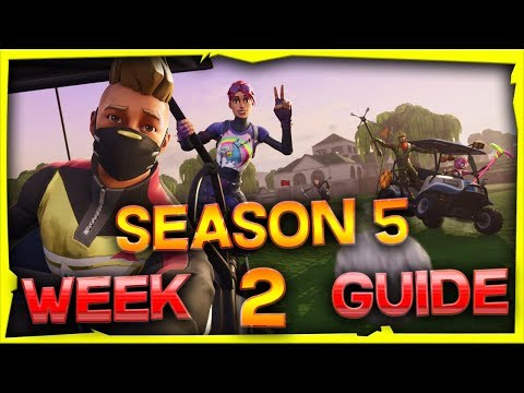 Fortnite Season 5 Week 2 Challenges Guide And Locations