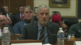 Jon Stewart Slams Congress In Fiery 9/11 Fund Hearing