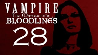 TOP SECRET ELEVATOR 28 Vampire The Masquerade Bloodlines Let S Play