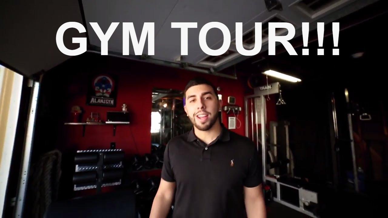 Garage gym tour best in los angeles youtube