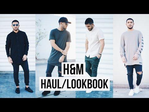 MEN'S H&M HAUL/LOOKBOOK | DemTheCeleb