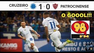 CRUZEIRO 1 x 0 PATROCINENSE & Bom Humor 98 FM Em breve aqui os Melhores Momentos Mineiro 2018 2ª Rod