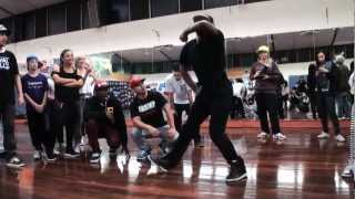 Tight Eyez- Adelaide Krump Workshop