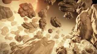 Elite: Dangerous. Locations. Wunjo. Ice asteroid belt near Star