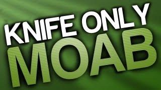 mw3 knife only moab on lockdown ninjaknifes
