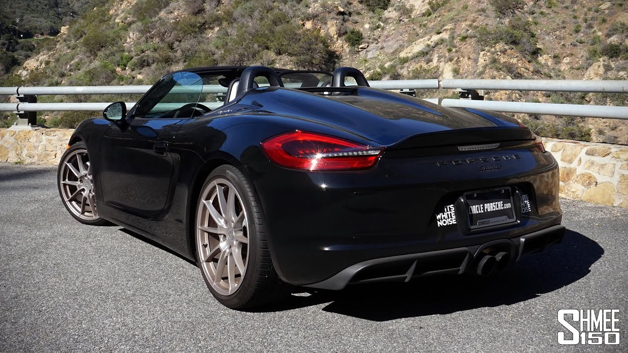 Test Drive In The Porsche Boxster Spyder A Gt4 Without A