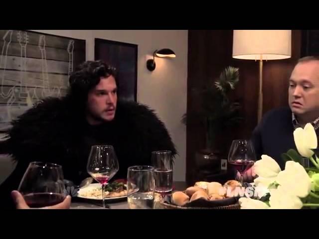 «Игра пре�толов»: Джон Сноу на ужине у С�та Мейер�а (� переводом)