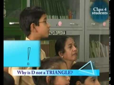 How Students Think: Class 4, Maths: Which of These is a Triangle?