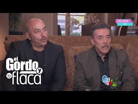 Don Pedro y Lupillo Rivera en exclusiva en El Gordo y la Flaca - Entrevista completa