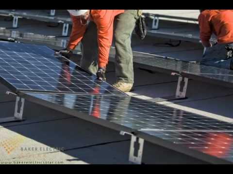 Solar Panel Installation - Baker Electric Solar
