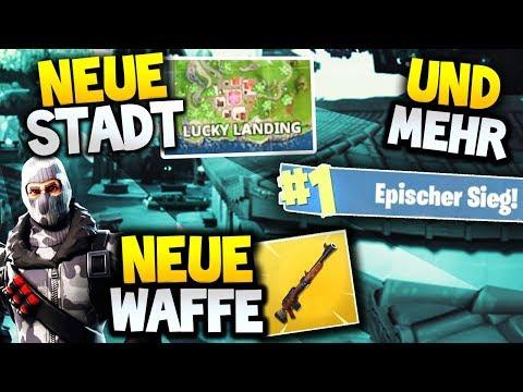NEUE STADT, NEUE WAFFE & VIEL MEHR! | Fortnite Battle Royale (Deutsch)