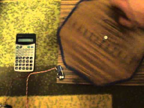 how to make a metal detector with a calculator