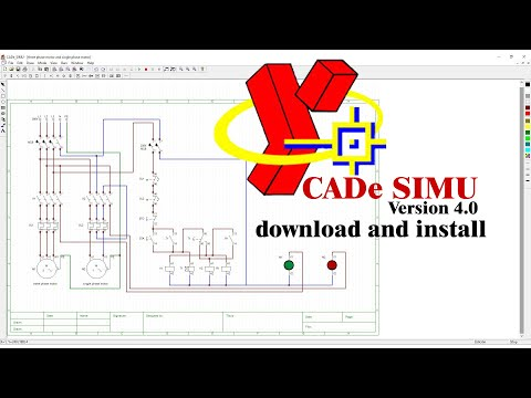 Khmer version   How to download and install CADe SIMU & PC SIMU 4.0 Free Latest version