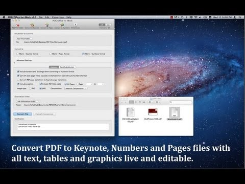 PDF to Keynote Converter - Convert PDF to Keynote using PDF2Office ...