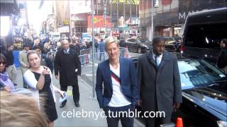 Revenge Actor Gabriel Mann sharing love with Fans in New York