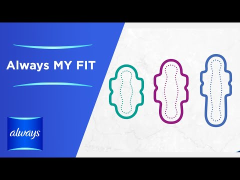 ALWAYS MY FIT with ALWAYS Ultra Sanitary Pads Demo