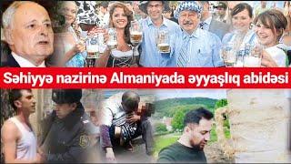 Əyyaş nazirimizə Almaniya kəndliləri abidə ucaldıb - Tural Sadıqlı