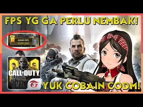 FPS tapi Ga Ada Tombol Nembak?! Ayo Cobain CoDM! | Call of Duty Mobile Indonesia (Vtuber/Episode 78)