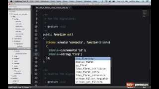 Backbone JS Hands On Contacts Manager Laravel Setup - 25 tutsplus
