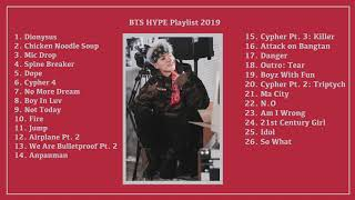 Download BTS Hype Playlist 2019⎨For partying, working out, and getting lit 🔥 (Upbeat, Powerful)