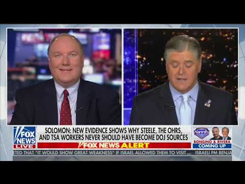 Sean Hannity: Sources say 'most explosive' part of DOJ review about 'outsourcing of illegal intelligence-gathering'