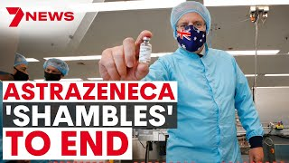 Australia's Astrazeneca COVID vaccine to be PHASED OUT