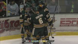 Northern Michigan Hockey: Michigan Tech Highlights (2/25/17)