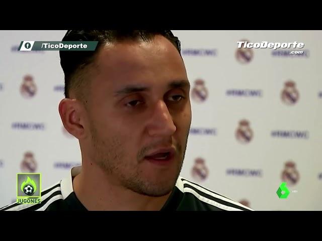 La molestia de Keylor Navas por su suplencia en el Real Madrid