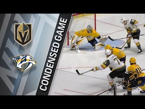 01/16/18 Condensed Game: Golden Knights @ Predators