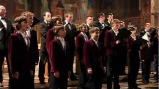 "Rachmaninov - Vêpres / Vespers - ""Blazhen Muzh"" - Choeur de garçons de Poznań (paroles / lyrics)"