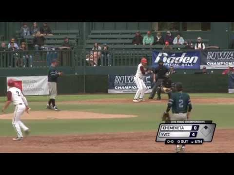 NWAC Baseball Championships - Game 2 - Chemeketa vs. Yakima Valley