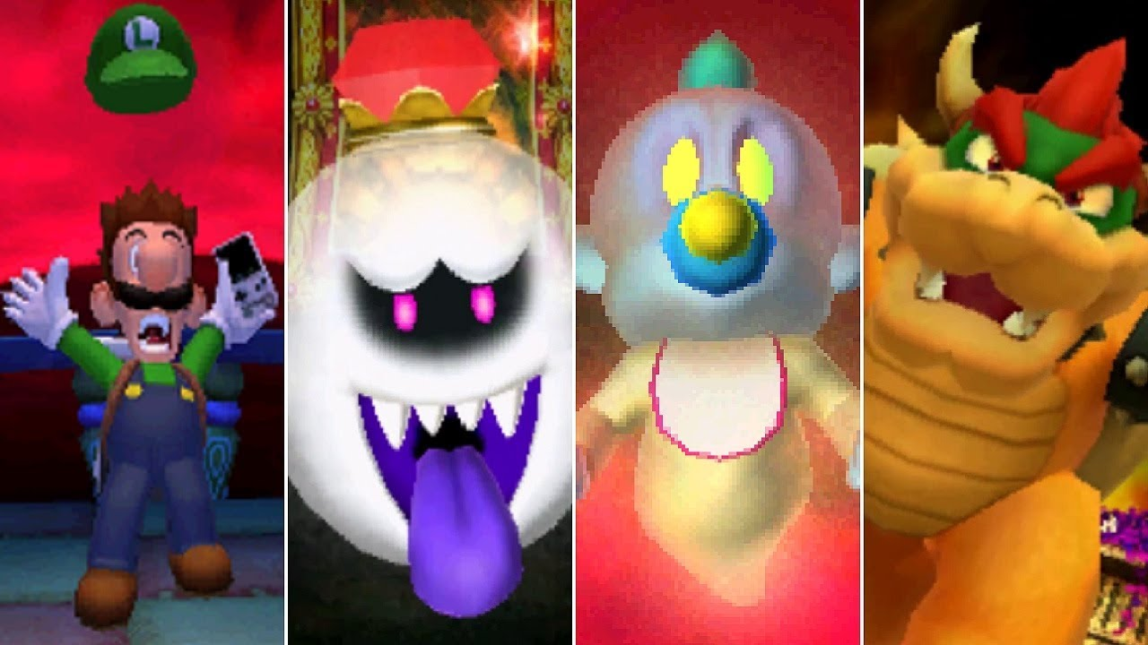 Luigi's Mansion - Boss Rush (All Bosses)