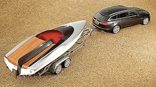Jaguar Speedboat Concept Jaguar XF Inspired Commercial HD CARJAM 2016