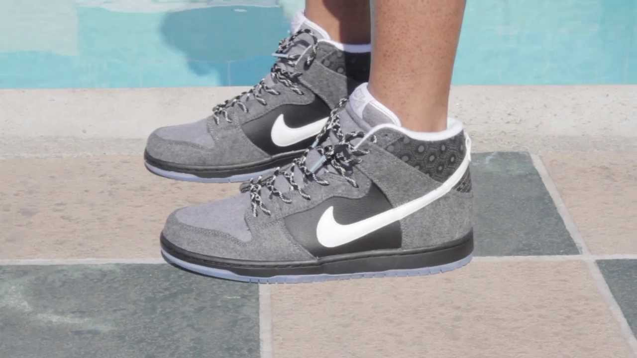 new product 7f085 ed384 Nike SB Dunk HI X Premier ON--FEET