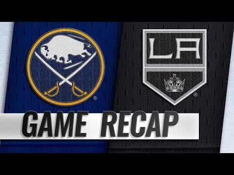 Skinner records hat trick as Sabres top Kings, 5-1
