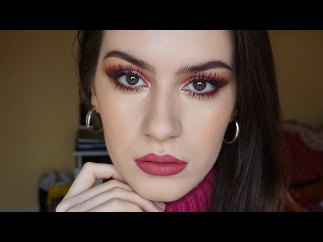 Dusty rose makeup for Valentines Day