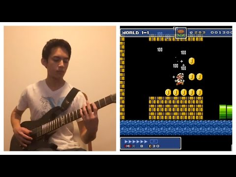 Super Mario Bros  Underground Theme (Guitar) - YouTube