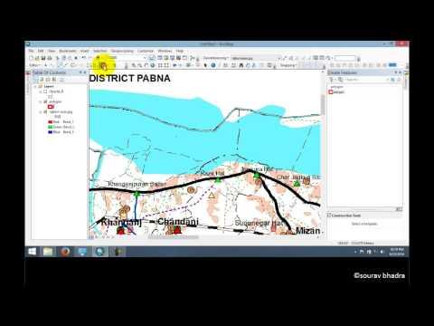 ArcGIS 10.2 Tutorial - Map Digitizing