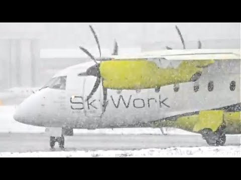 Heavy Snowfall - Skywork Dornier 328 HD