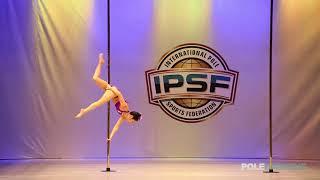 Ryoko Ibaraki - IPSF World Pole Championships 2018