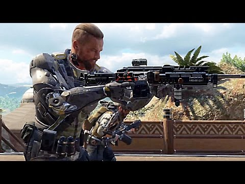 Call of Duty Black Ops 3 Gameplay E3 2015
