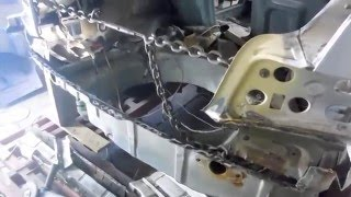 Кузовной ремонт BMW 325/ The restoration BMW e36 . ч.2 #BMWKarosseriereparatur