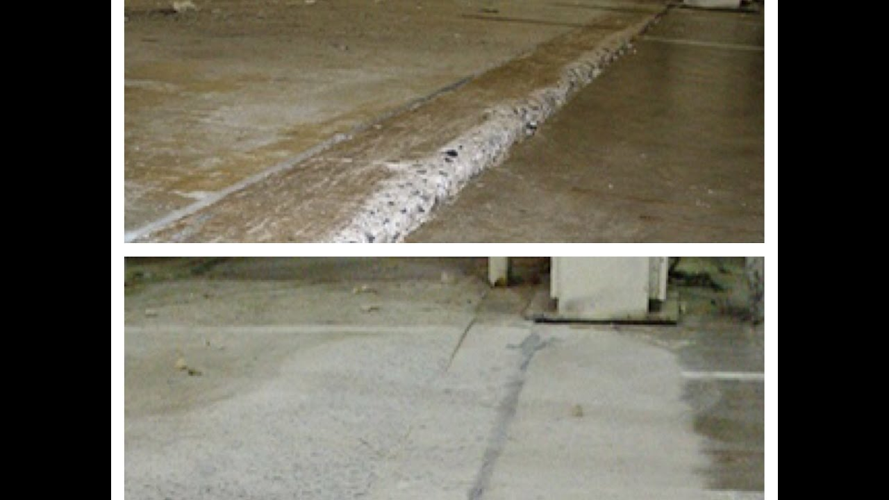 How To Repair Uneven Expansion Joints Properly Concrete Floor Solutions Inc