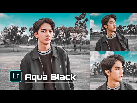 Tutorial Edit Foto Ala Selebgram Di Lightroom | Black Aqua Tone