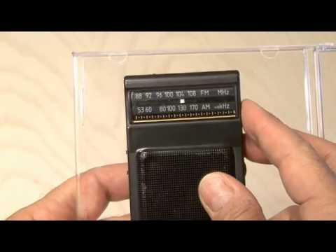 metal detector from a calculator AND A RADIO