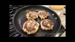Turkey Burgers - Apple Maple Turkey Burgers With Maple-dijon Sauce - Healthconsciousmeals