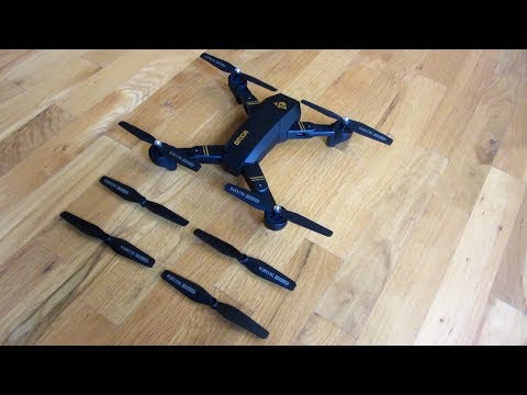 VISUO Drone | Propeller Blades Direction and Configuration