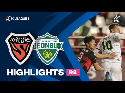 Pohang Jeonbuk Goals And Highlights