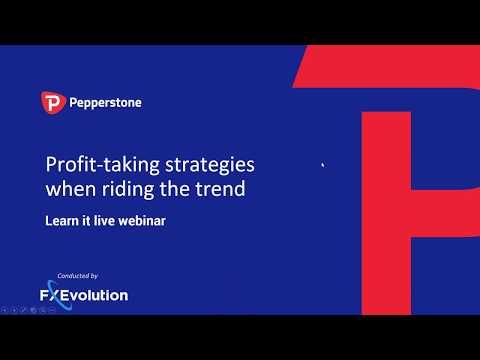 Profit-taking strategies when riding the trend